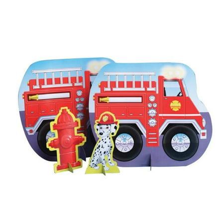Access Firefighter Standup Centerpiece, 1 Ct (Firefighter Centerpieces)