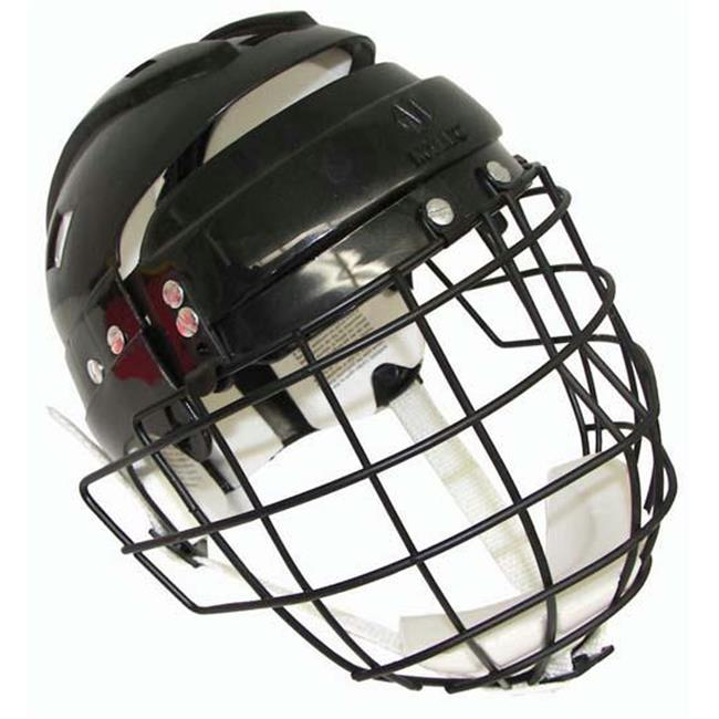 Olympia Sports HO206P Hockey Helmet with Wire Face Cage Senior by Olympia Sports