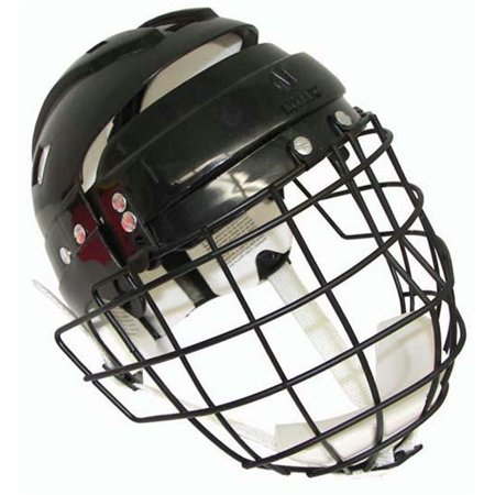 Olympia Sports HO206P Hockey Helmet with Wire Face Cage - Senior