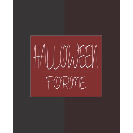 Us Halloween Date (Halloween for me: With Yearly Goal Action Planner and Checklist: Agenda, Goal Setting Book For All Activity 2020 Important Dates, Appointments for Tract and Plan Your Ideas)