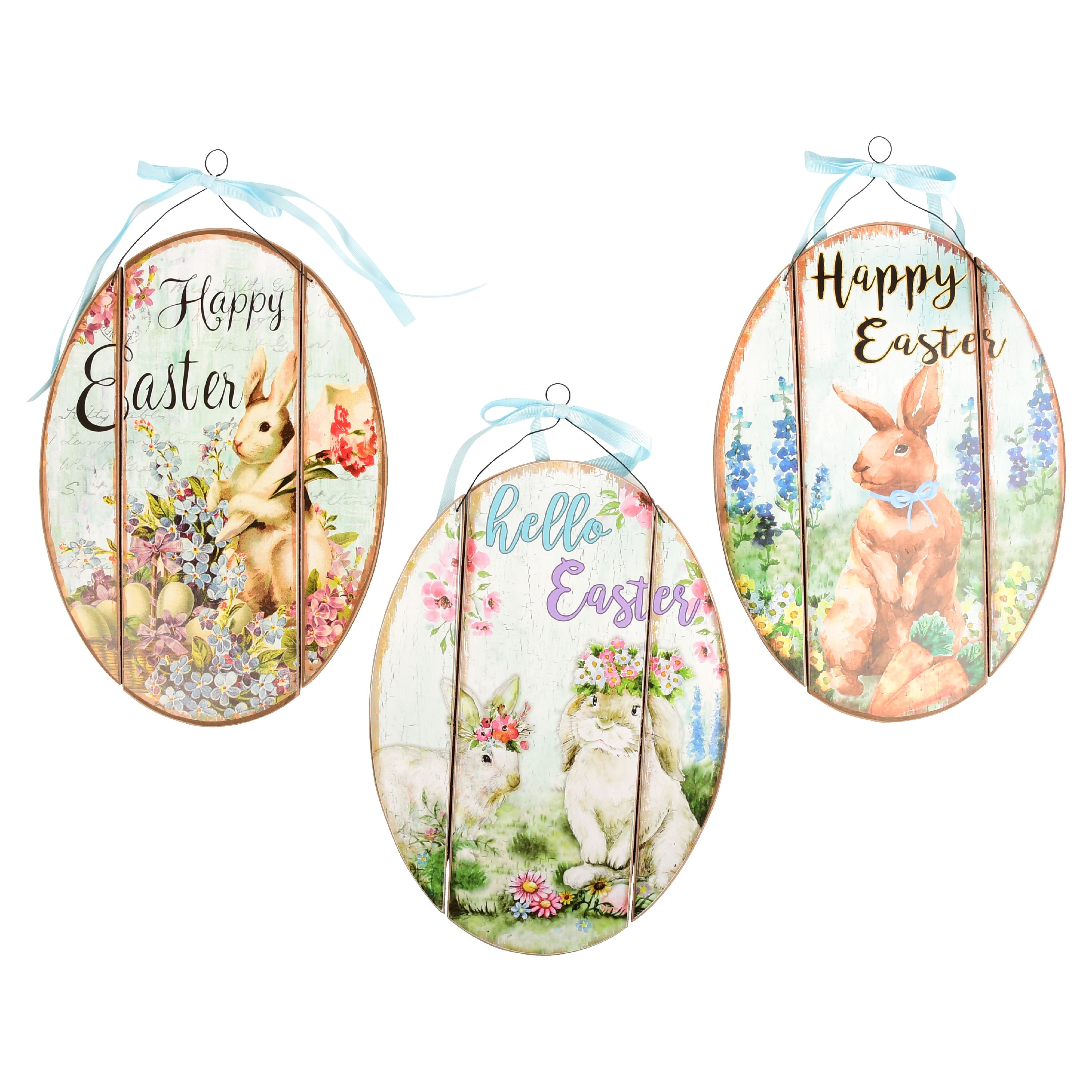 Hanging Happy Easter Sign