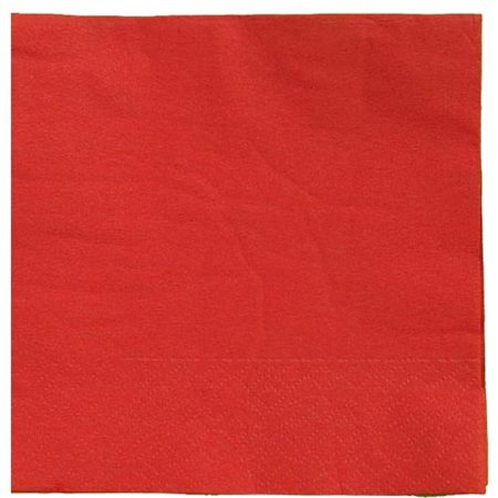 Exquisite Disposable Luncheon & Dinner Napkins - Bulk 100 Count - Red - High Quality Paper Napkins for Cocktail Parties, Birthdays, Weddings, Bridal & Baby Showers