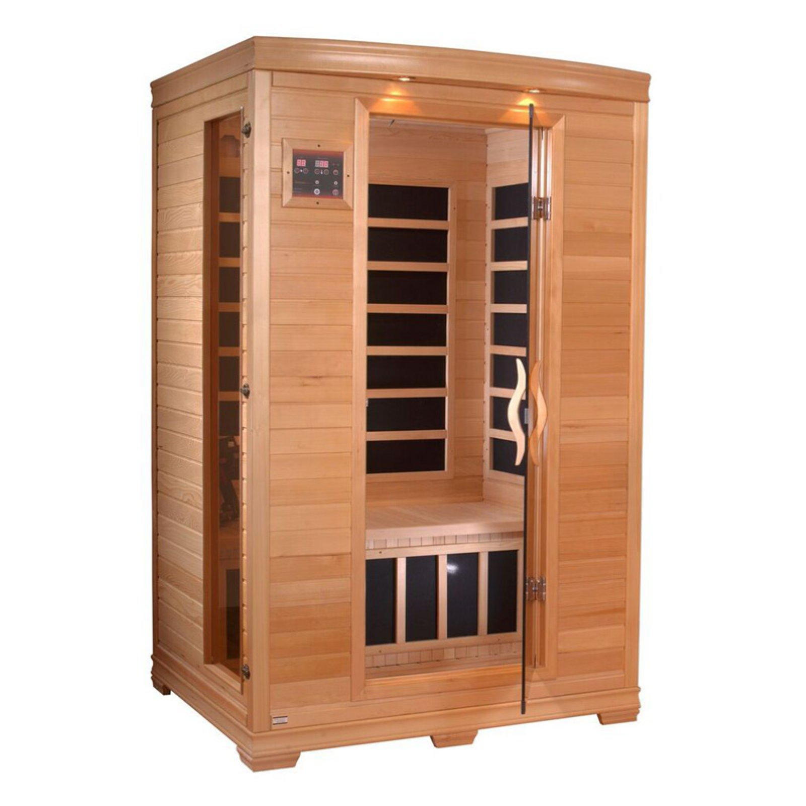 Golden Designs Inc. 2 Person Infrared Sauna by Overstock