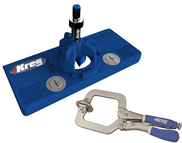 Kreg Concealed Hinge Jig & Face Clamp by Kreg