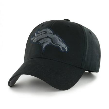 NFL Denver Broncos Black Mass Basic Adjustable Cap/Hat by Fan Favorite