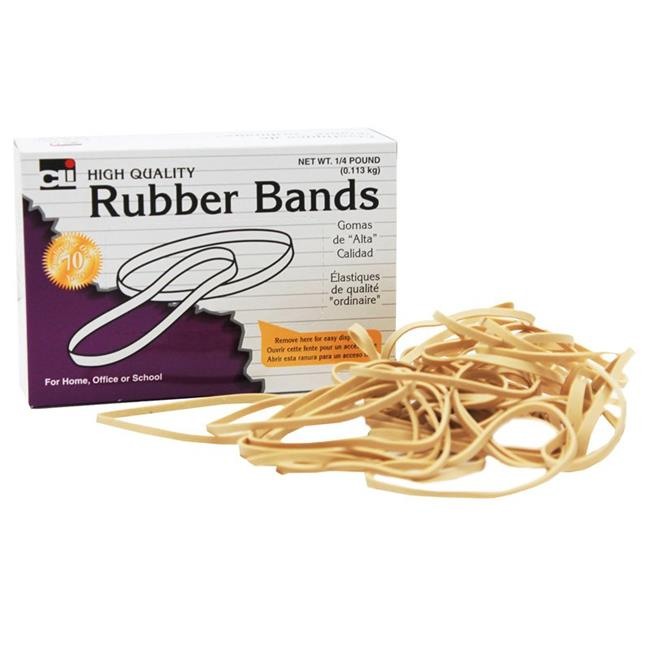 Charles Leonard CHL56164BN Rubber Bands - Size 64 - Pack of 10