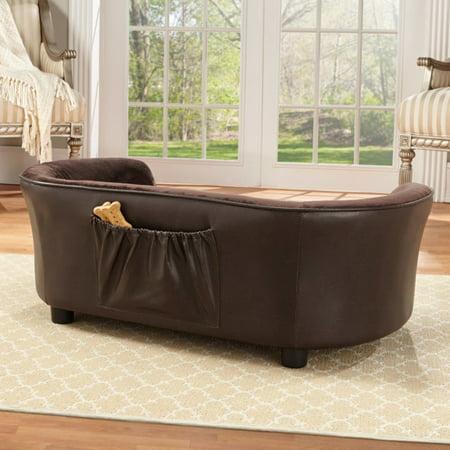 Enchanted Home Pet Panache Dog Sofa, Medium, (Brown Dog Clothing)