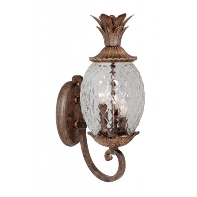 Mariana Home 607123 Pineapple 2 Light Outdoor Sconce