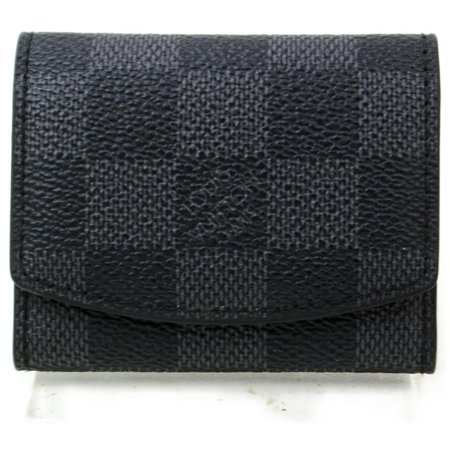 Louis Vuitton Damier Graphite Cuff Case Pouch 871953