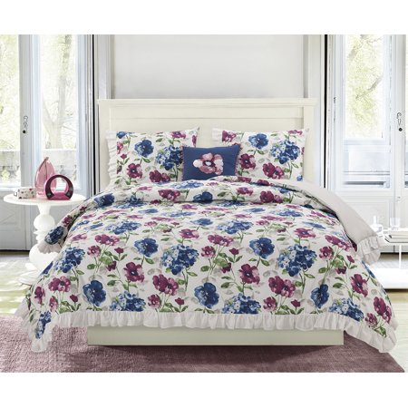 Better homes gardens floral prep comforter bed set - Better homes and gardens bedding ...