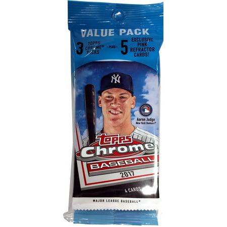 2017 Topps Chrome Baseball Value Pack
