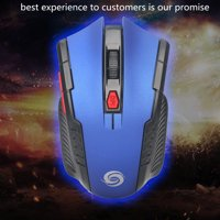 2.4Ghz Mini Fashion Wireless Optical Gaming Mouse Mice& USB Receiver For PC Laptop
