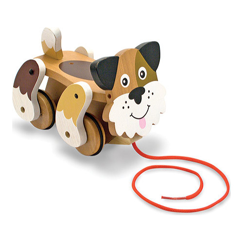 Children's Melissa & Doug Playful Puppy Pull Toy