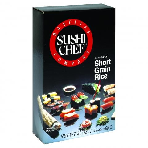 Sushi Chef Short Grain Rice, 20 Ounce Boxes