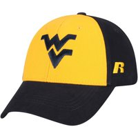 Men's Russell Athletic Gold/Navy West Virginia Mountaineers Endless Two-Tone Adjustable Hat - OSFA
