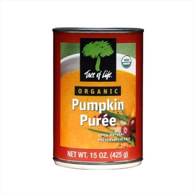 Puree Pumpkin Org 15 OZ -Pack Of 12