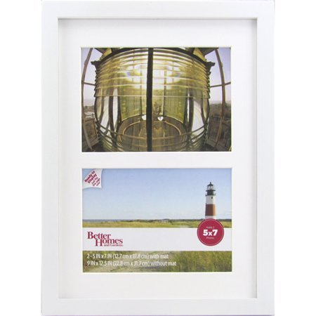 Better Homes And Gardens 5x7 Gallery Picture Frame White