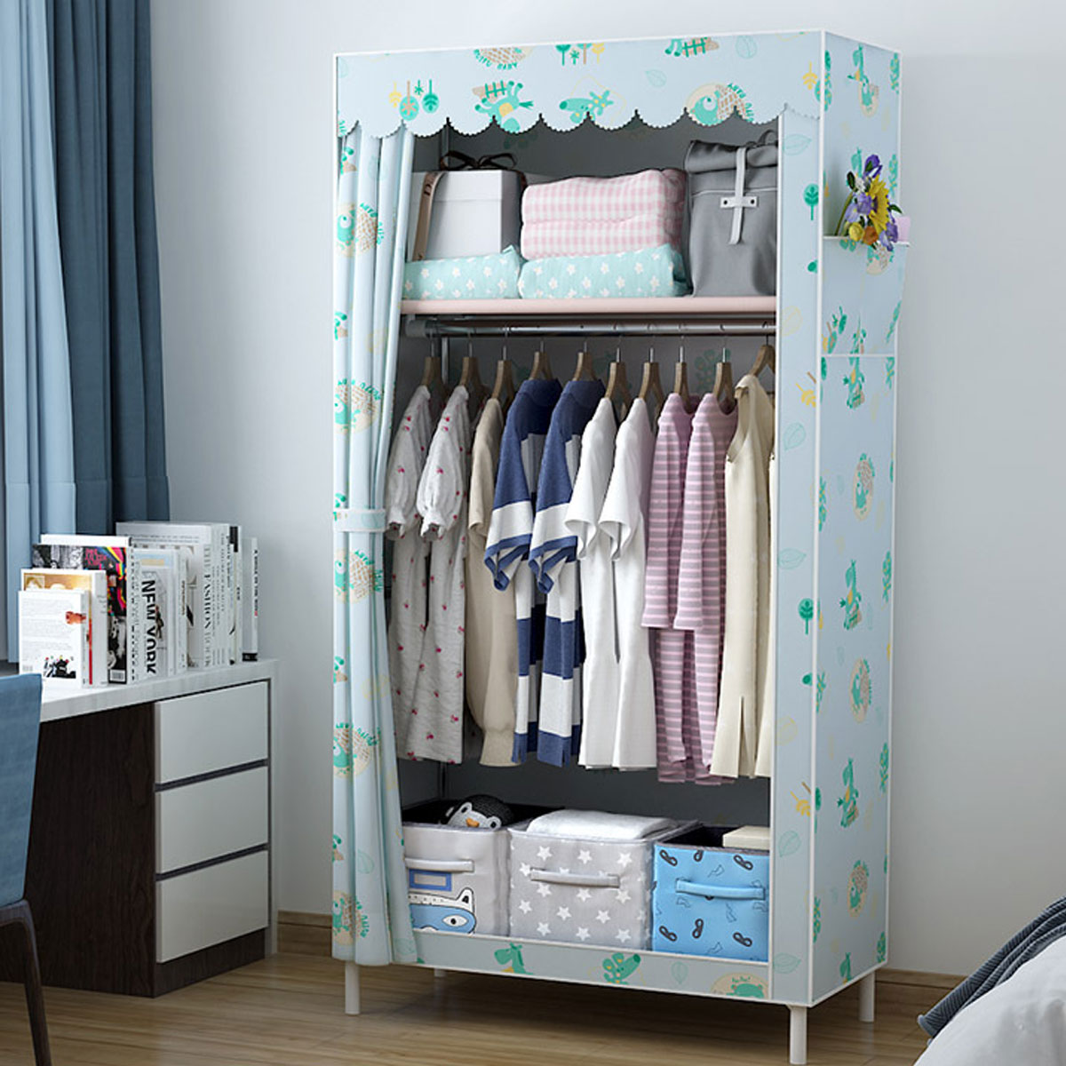 White 3-Feet Rubbermaid 3E0000WHT Linen Closet Shelf Kit