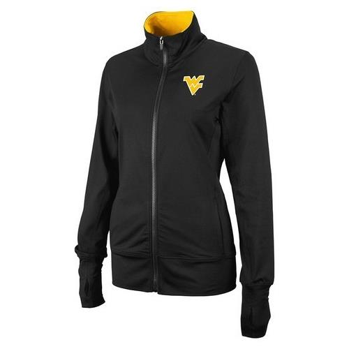 West Virginia Mountaineers Women's Track Jacket by Colosseum