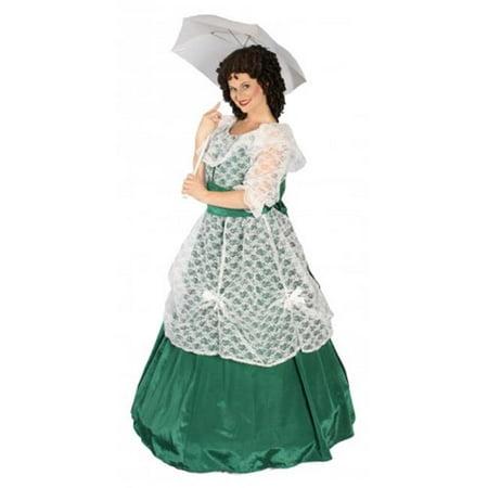Alexander Costume 18-043-GR Scarlett Costume, Green - Large](Scarlett Ohara Costumes)