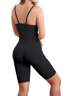 ShapEager Body Shaper Faja Seamless Shaper Bio-Crystals Long Short Slimming Shapewear Bodysuit