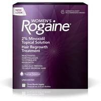 Women's Rogaine Solution, Three Month Supply