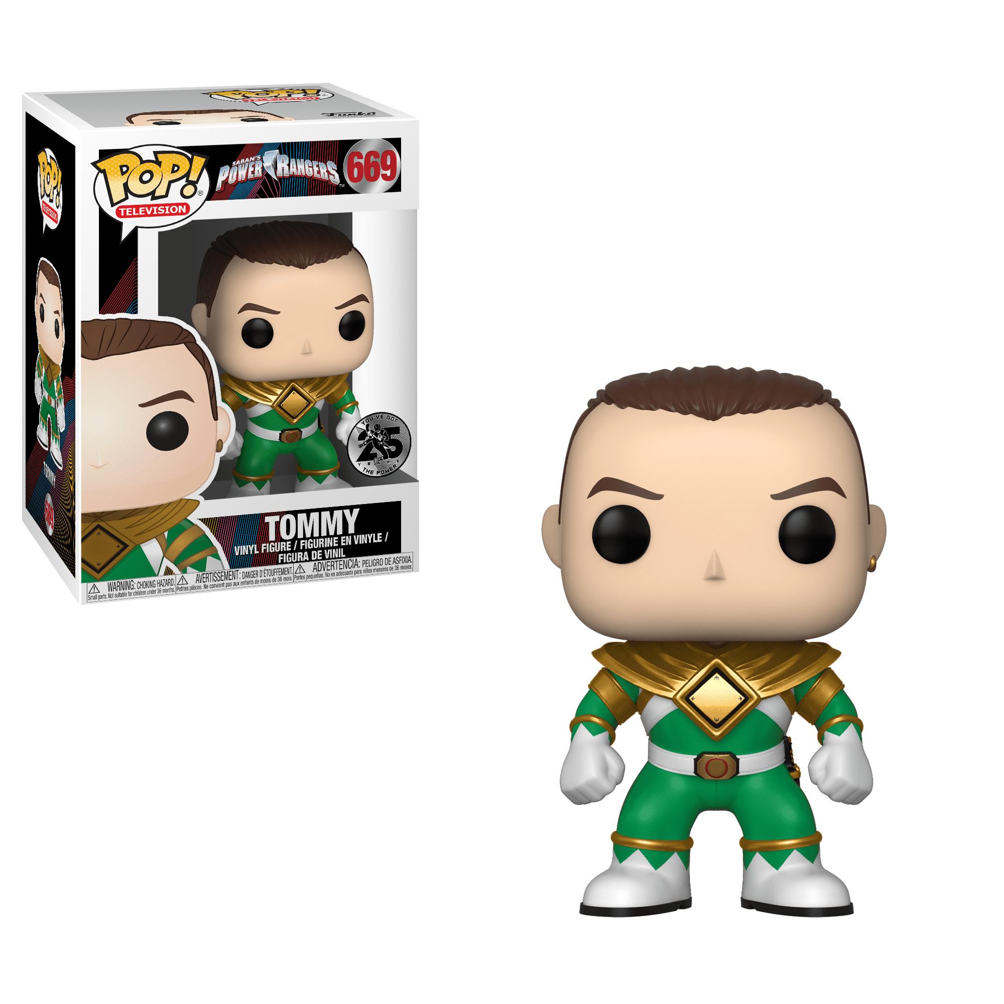 Funko Pop TV: Power Rangers Tommy (Green Ranger) by Funko