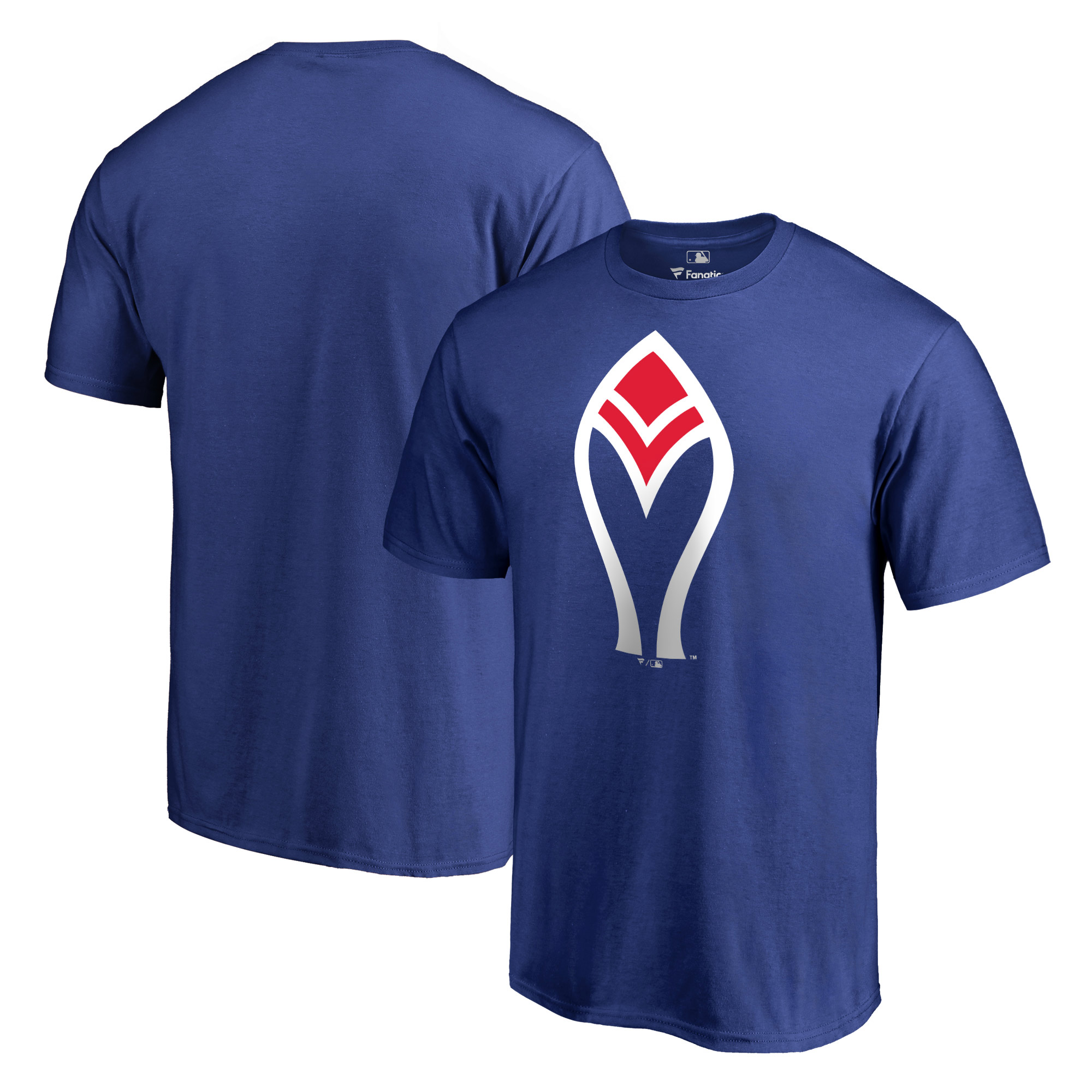 Atlanta Braves Fanatics Branded Cooperstown Collection Forbes T-Shirt - Royal