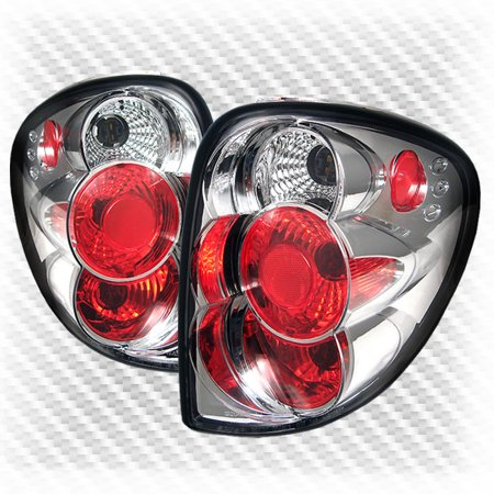 For 2001-2007 Dodge Caravan/Town & Country Tail Lights Lamps Rear Brake Lamp  Pair Left+Right 2002 2003 2004 2005 2006