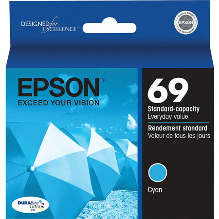 Epson, EPST069220, 69 Ink Cartridges, 1 (Epson Original Light)
