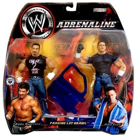 Parking Lot Brawl Eddie Guerrero vs. John Cena Action Figure