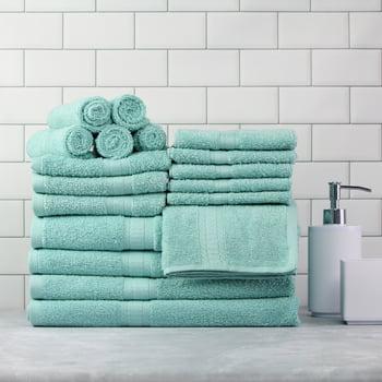Mainstays Basic Bath Collection 18-Piece Towel Set