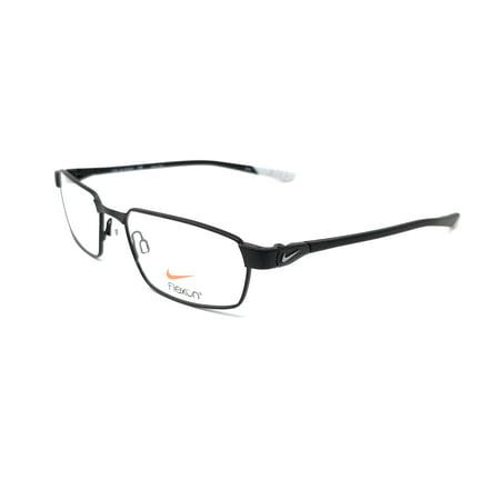 nike nike 4274 eyeglasses 004 satin black-wolf grey nike nike 4274 eyeglasses 004 satin black-wolf grey