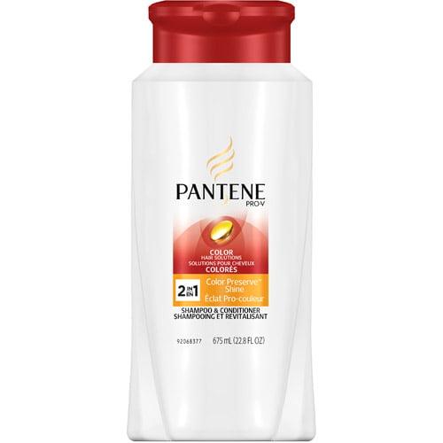 Pantene Pro-V Color Preserve Shine 2 In 1 Shampoo + Conditioner, 22.8 oz