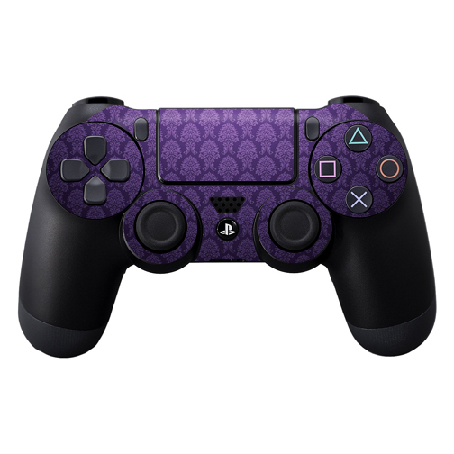 Protective Vinyl Skin Decal Cover for Sony PlayStation DualShock 4 Controller wrap sticker skins Antique Purple