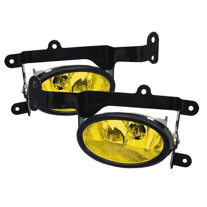 Spyder Honda Civic 06-08 2Dr OEM Fog Lights W/Switch - Yellow