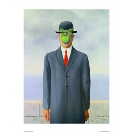 Son of Man Poster Poster Print by Rene (Magritte Modern Poster)