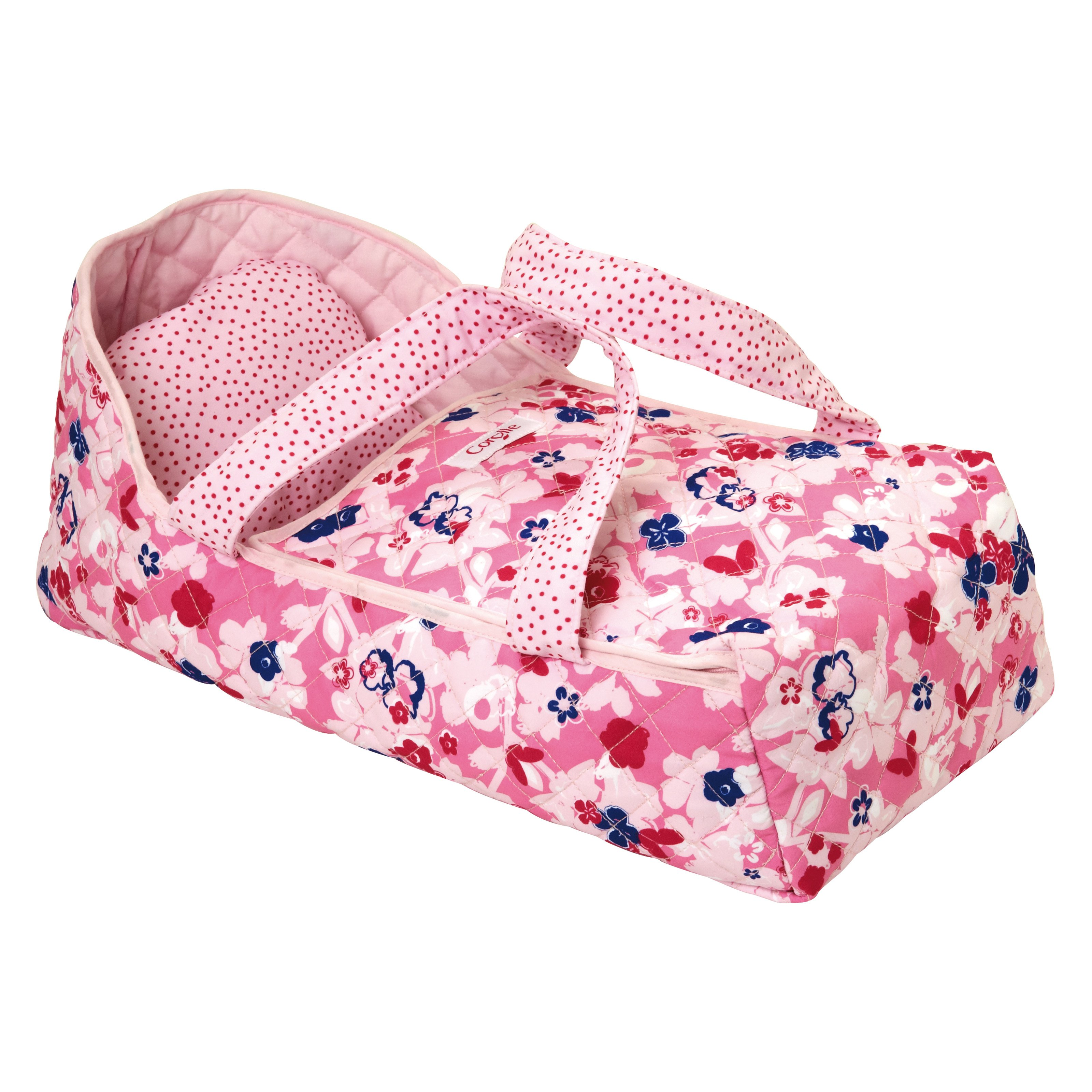 Corolle Pink Carry Doll Bed