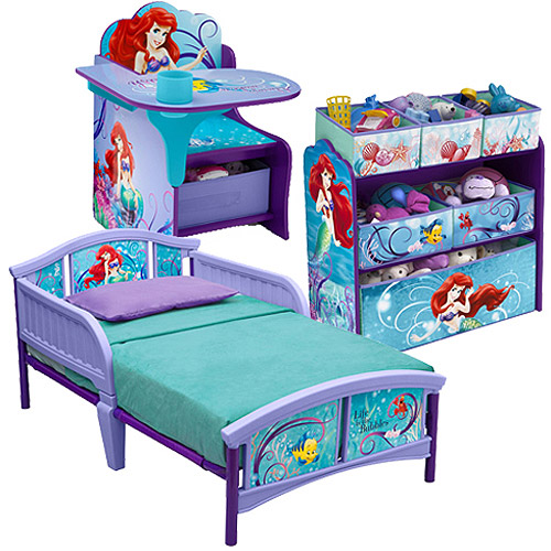 Disney Little Mermaid or Hello Kitty Room-in-a-Box, Your Choice