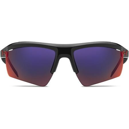 a743bf2330 Under Armour Core 2.0 Sunglasses Shiny Black  Infrared - Walmart.com