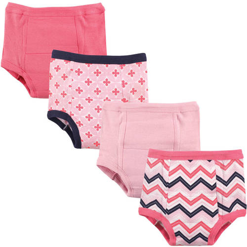 Luvable Friends Baby Boy and Girl Training Pants, 4-Pack - 4T - Chevron