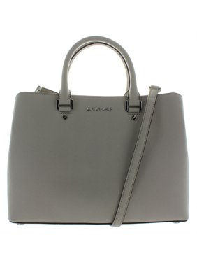 35da74ed3e56 Product Image Michael Michael Kors Savannah Large Saffiano Leather Satchel  in Cement