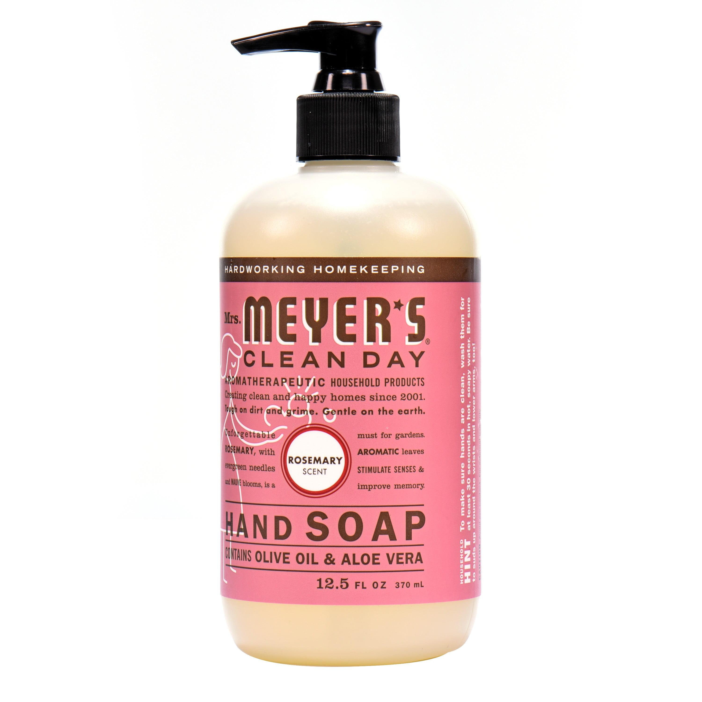 Mrs. Meyer\'s Clean Day Liquid Hand Soap, Rosemary, 12.5 Fl Oz ...