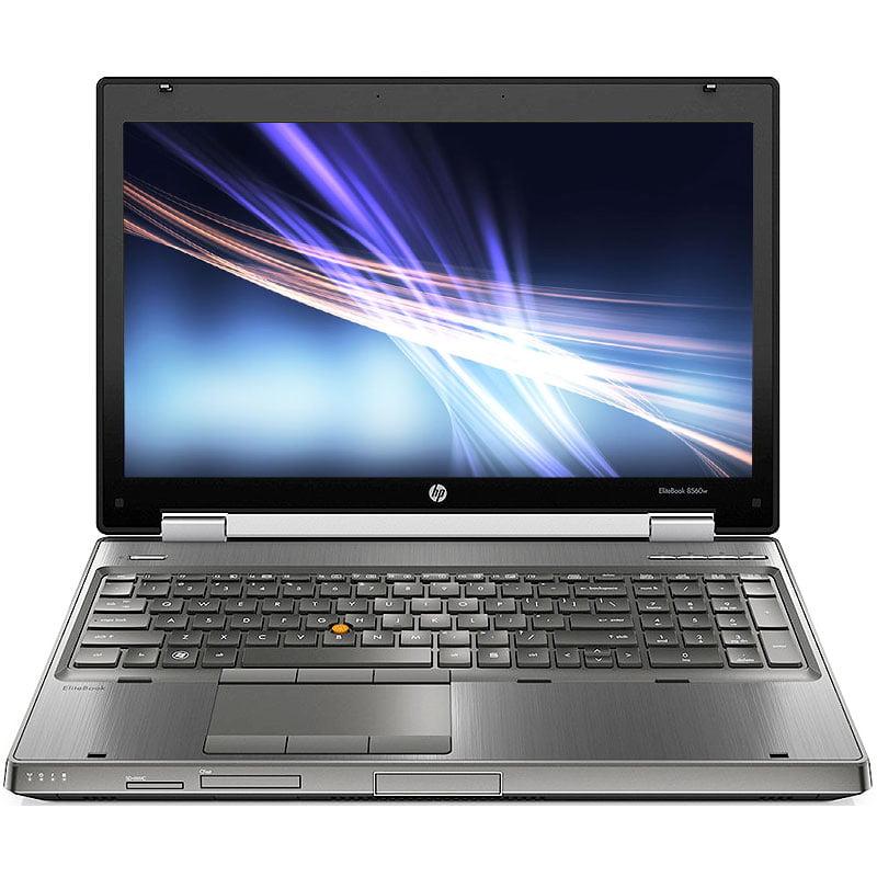 Refurbished HP EliteBook 8460w 2.2GHz i7 8GB 320GB DVD Windows 10 Pro 64 Laptop B Camera