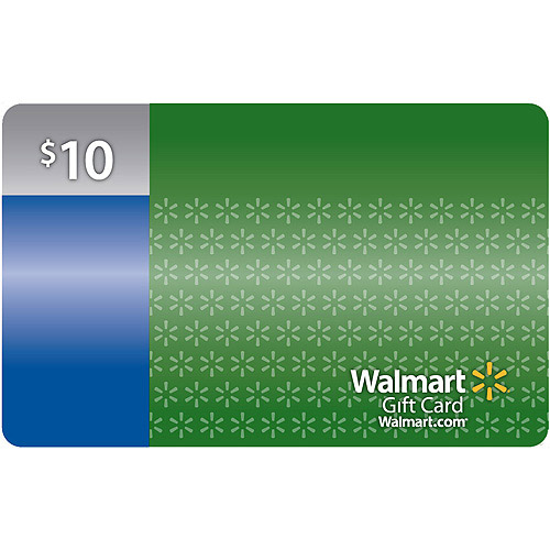 $10 Walmart Gift Card by