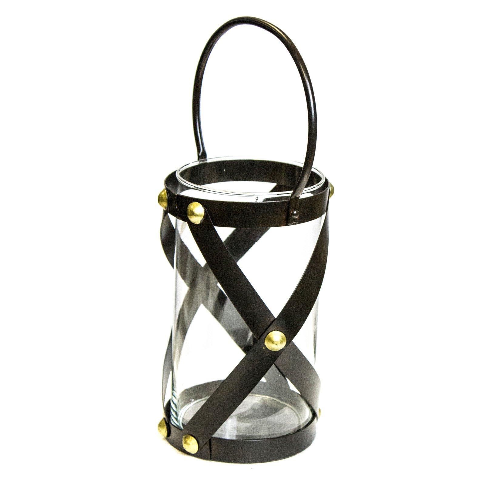 Sagebrook Home Metal Cylinder Lantern