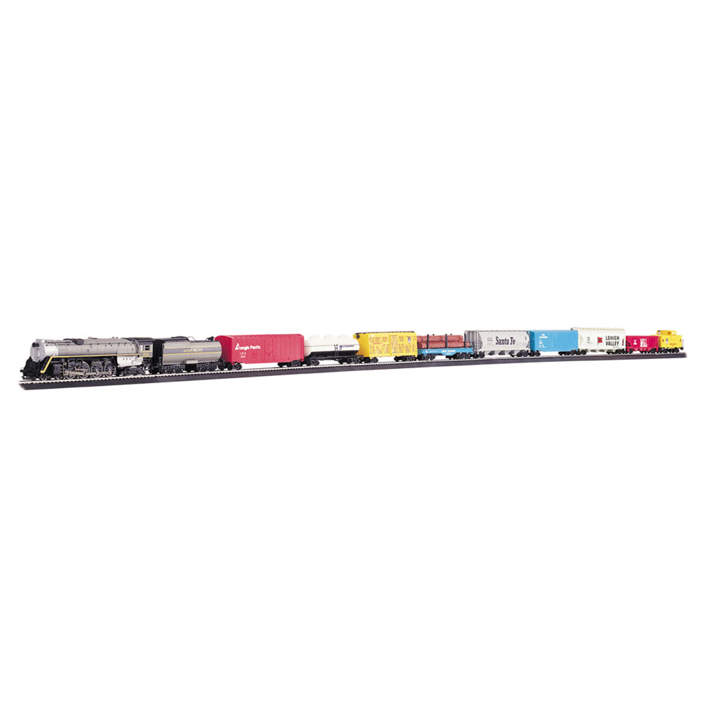 Bachmann Trains HO Scale Overland Limited Ready To Run Electric Locomotive Train Set by Bachmann Trains