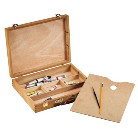 "Alvin&Co  3/14"" Wood Sketch Box Large - image 1 of 1"