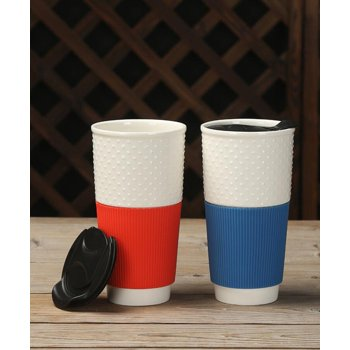 2-Pk Mainstays Travel Mugs