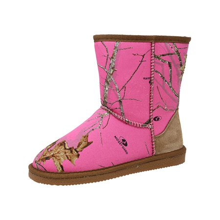 Lamo Girl's Country Roots Camo High-Top Boot - 5M